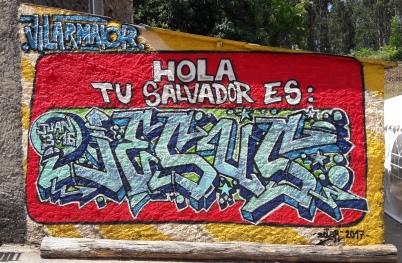 Graffiti en A Coruña (España)