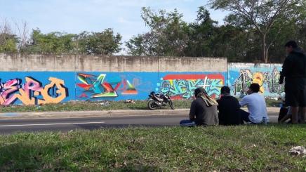 Pintando con Tnt, Zero, Boer y Akami