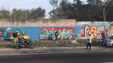 Graffiti en El Salvador - Soyapango