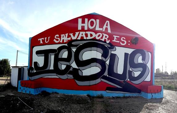 HOLA TU SALVADOR ES JESUS