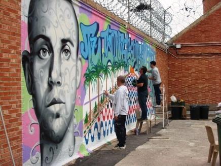 PRISON OF ALICANTE: Tom Rock, Loco 13 y Dolar One