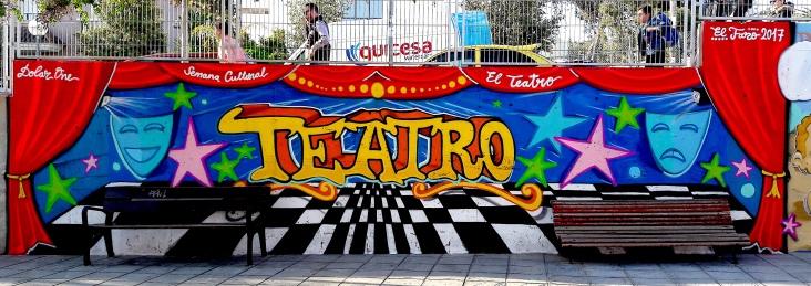 GRAFFITI BY DOLAR ONE - Semana Cultural Colegio El Faro Alicante (España)
