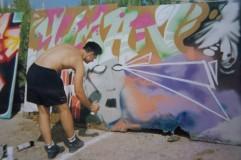 Glub pintando (Madrid)