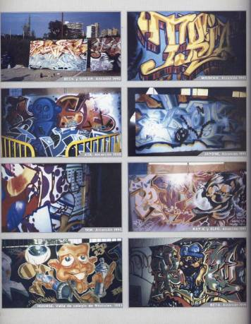 Dolar One en el libro: Madrid Graffiti 1982 - 1995