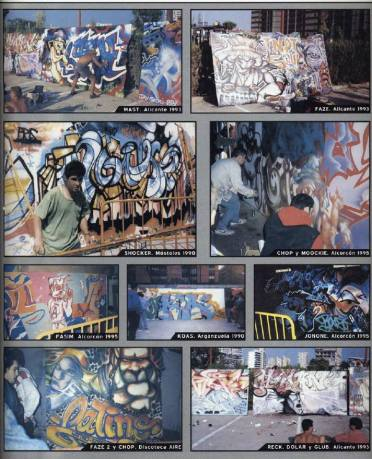 Dolar One in the Book: Madrid Graffiti 1982 - 1995