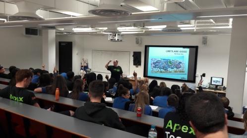 Apex Team en Dagenham Park School