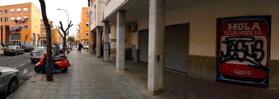 En el barrio de las mil viviendas (Alicante - España) 2017
