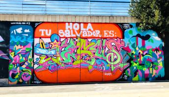 IN BENIDORM (SPAIN)