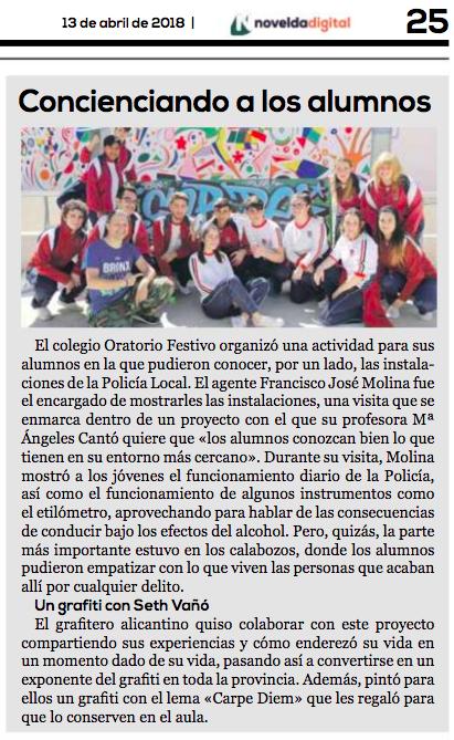 Alumnos del Pr4 - IES Oratorio Festivo (Novelda)