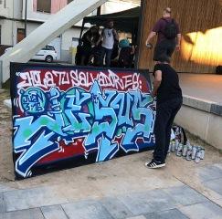 Dolar One en la Plaza Castelar de Elda en el Urban Fest
