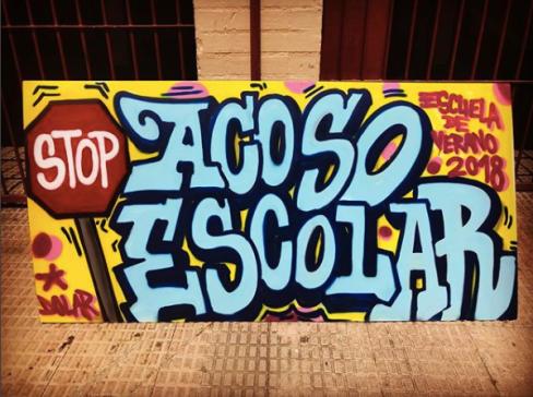 BARRIO LOS PALMERALES ELCHE GRAFFITI DOLAR ONE 1