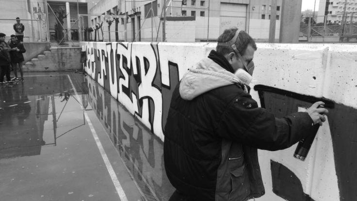 Portada Graffiti y Valores