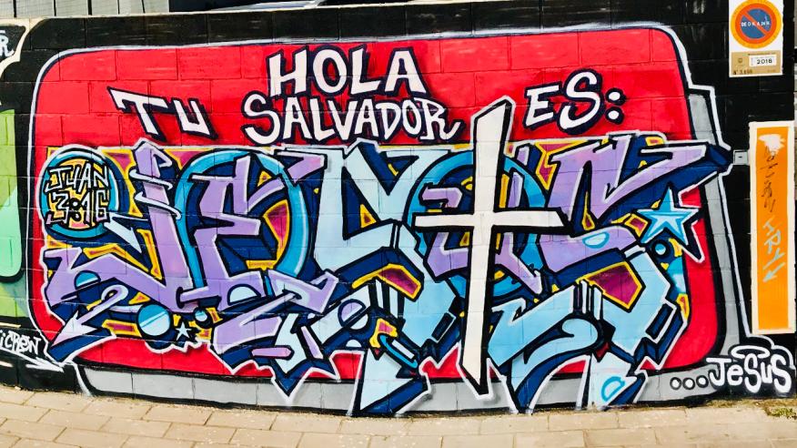 Hola tu salvador es Jesus - Por Dolar One