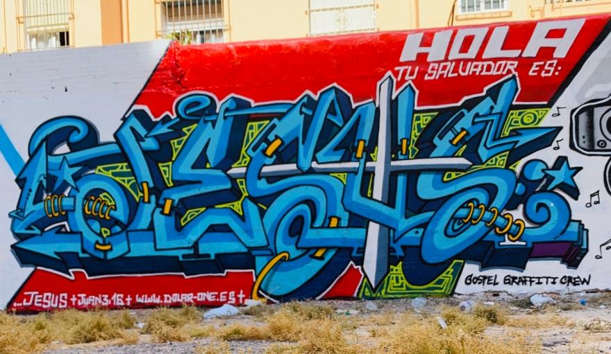 GRAFFITI ALICANTE GRAFF ALACANT HIP HOP ESPAÑA HOLA TU SALVADOR ES JESUS DOLAR ONE HOSPITAL DE ALICANTE MIL VIVIENDAS REQUENA JUAN 23 XXIII