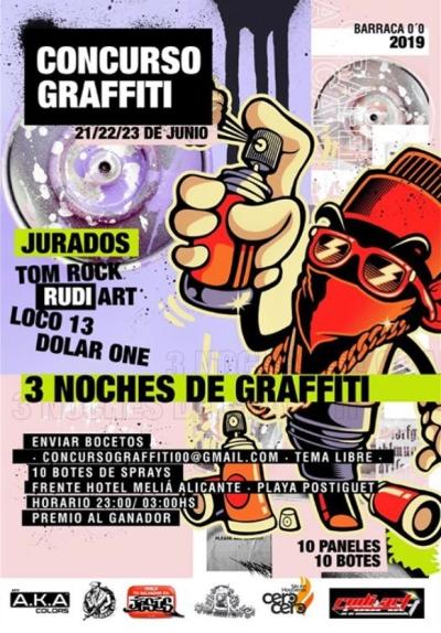 Poster Concurso de Graffitis