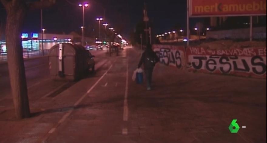 DOLAR ONE EN INFORMATIVOS LA SEXTA GRAFFITI ALICANTE HOLA TU SALVADOR ES JESUS GOSPEL GRAFFITI CREW ALICANTE SPAIN GRAFF STREET ART