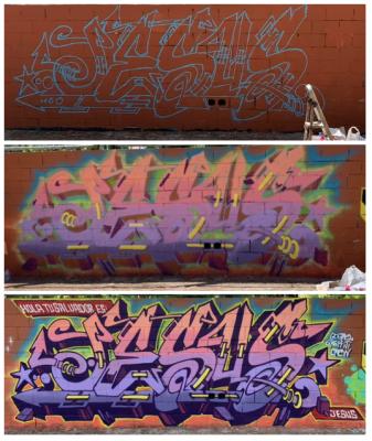 PROGRESO GRAFFITI POR DOLAR ONE