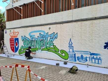 TALLER DE GRAFFITI EN BRUNETE MADRID